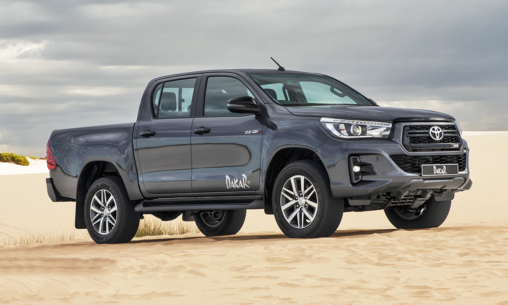 new look toyota hilux dakar launches in south africa car magazine. Black Bedroom Furniture Sets. Home Design Ideas