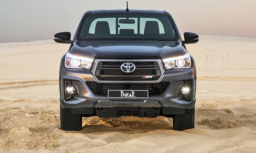 Toyota Tacoma Double Cab >> New-look Toyota Hilux Dakar launches in South Africa! - CAR magazine
