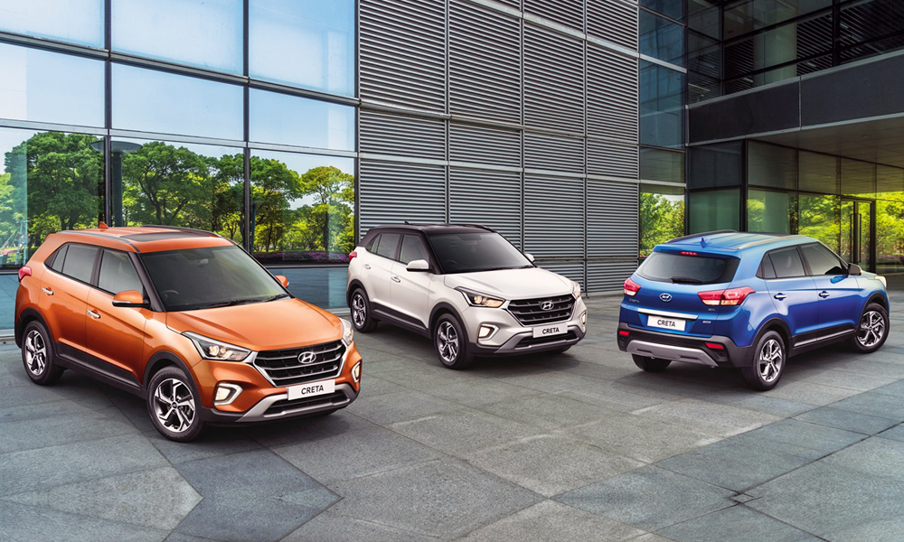 Two-tone paint options are now offered in India.