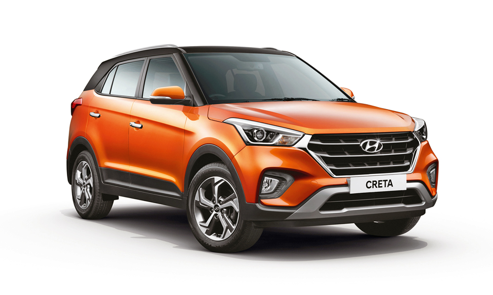 Hyundai has revealed its facelifted Creta in India.