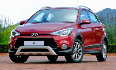 Facelifted Hyundai i20