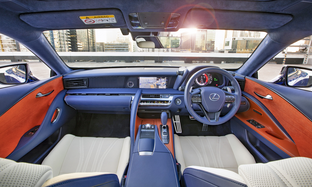 Bluer Than Blue Lexus Lc500 Limited Edition Coming To Sa Car Magazine