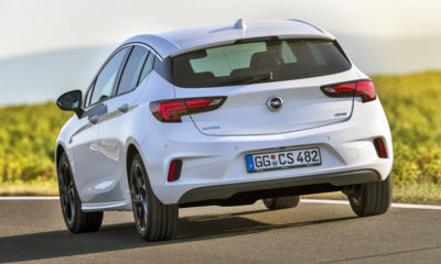 Opel Astra at 696 km/h...