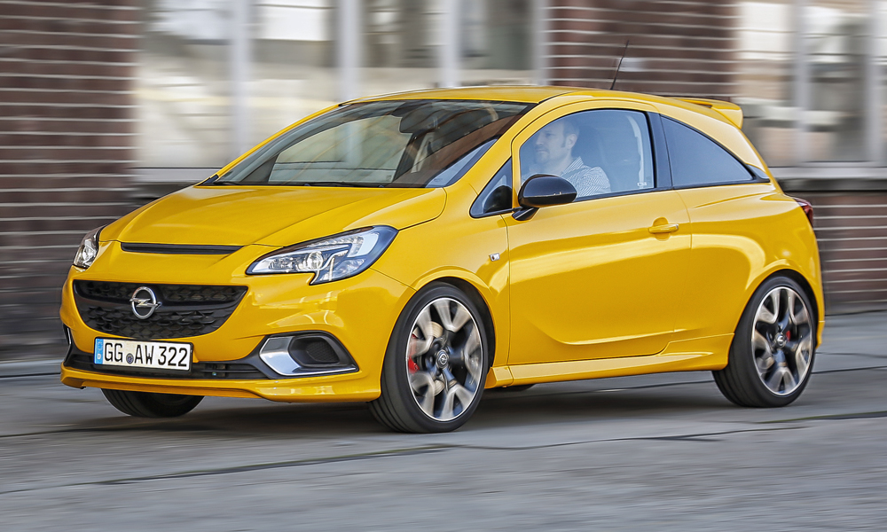 The new Opel Corsa GSi uses the brand's familiar turbocharged 1,4-litre petrol engine.