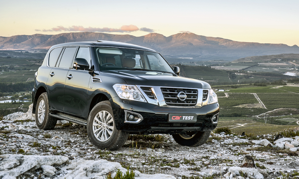 Nissan Patrol is offered exclusively with a 5,6-litre V8 petrol engine.