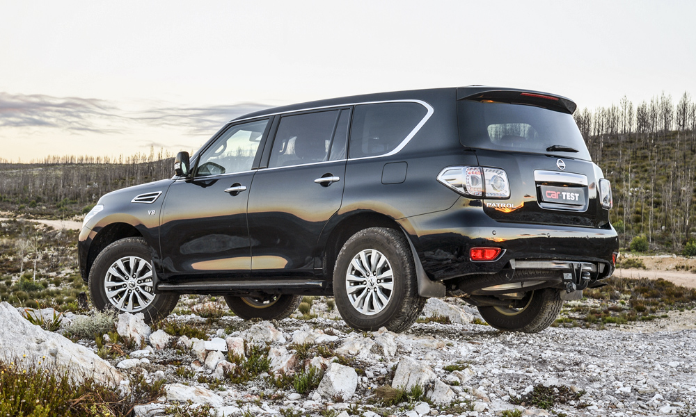 Patrol's styling is simpler than that of its Infiniti QX80 cousin.