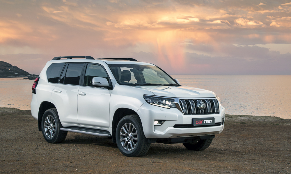 The Land Cruiser Prado is not the most modern, but it is the go-to choice for off-road capability and reliability.