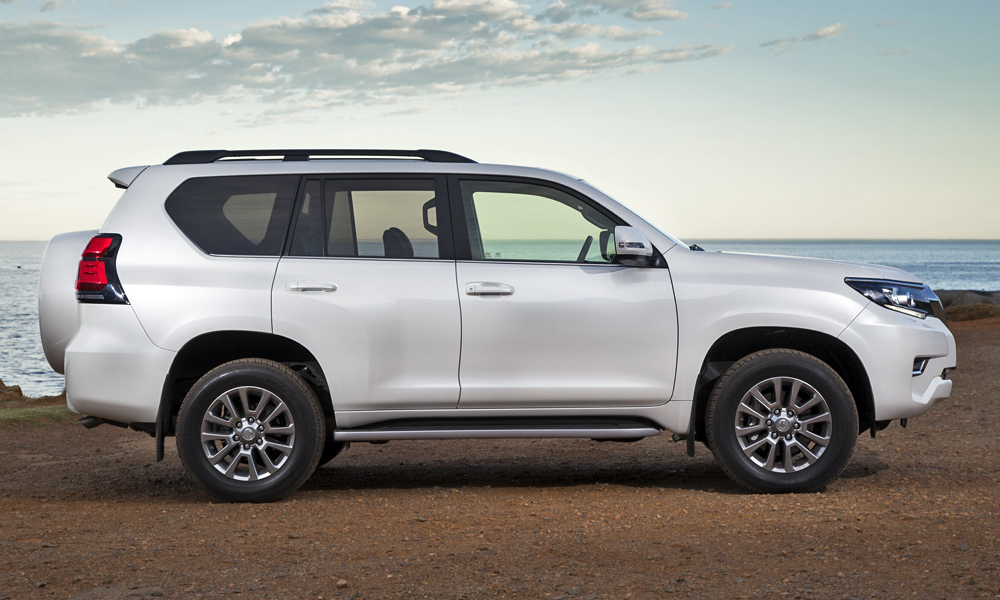 Prado has new front- and rear-end designs, but the overall shape remains familiar.