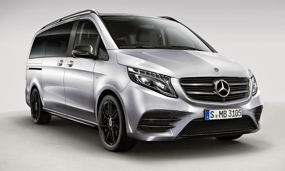 Mercedes Benz V Class Night Edition Adds Some Amg Spirit