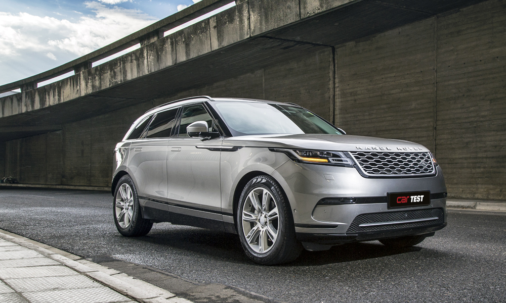 The Range Rover Velar D240 HSE uses a four-cylinder engine.