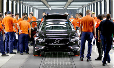 South Africa sources its S90 sedans from Volvo's Daqing plant in China.