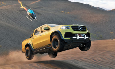 The Mercedes-Benz X-Class has its own mission in 'The Crew 2'.