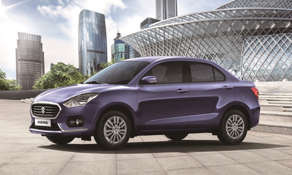 Dzire's styling is different to that of Swift.