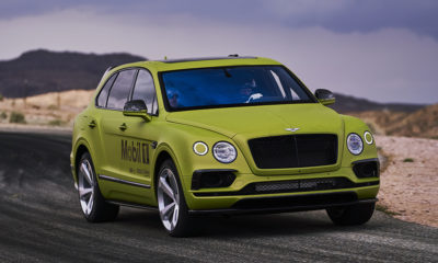 Bentley Bentayga W12 Pikes Peak 2018 - 2