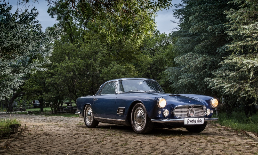 Oldest In South Africa 1958 Maserati 3500gt Car Magazine