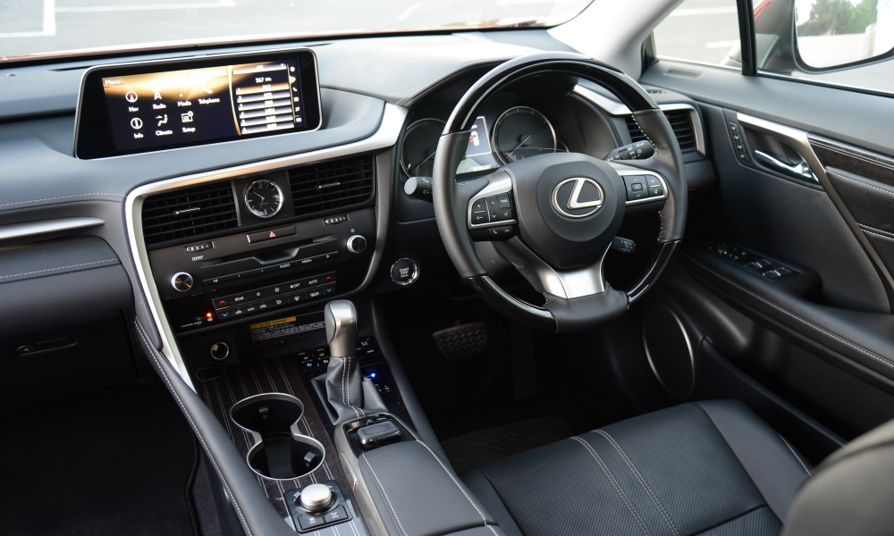 Heated front and second-row seats are one of the few options in a lavishly specced interior.