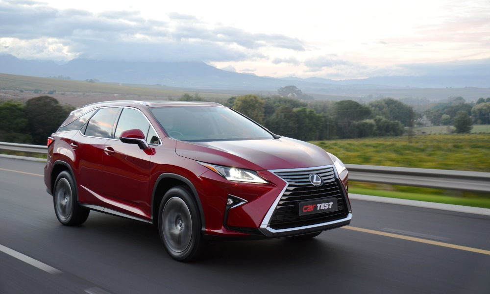 The Lexus RX350L is arguably the most refined luxury SUV in its segment.