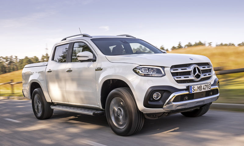 Mercedes-Benz X350d 4Matic 7G-Tronic Plus