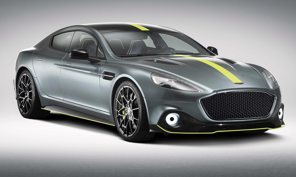 Aston Martin has revealed its new Rapide AMR.
