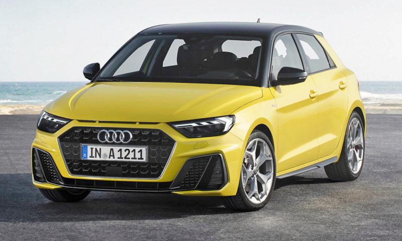 Audi releases images of its 2019 Audi A1 Sportback