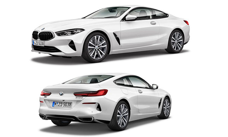 BMW 8 Series Coupé in 840d form