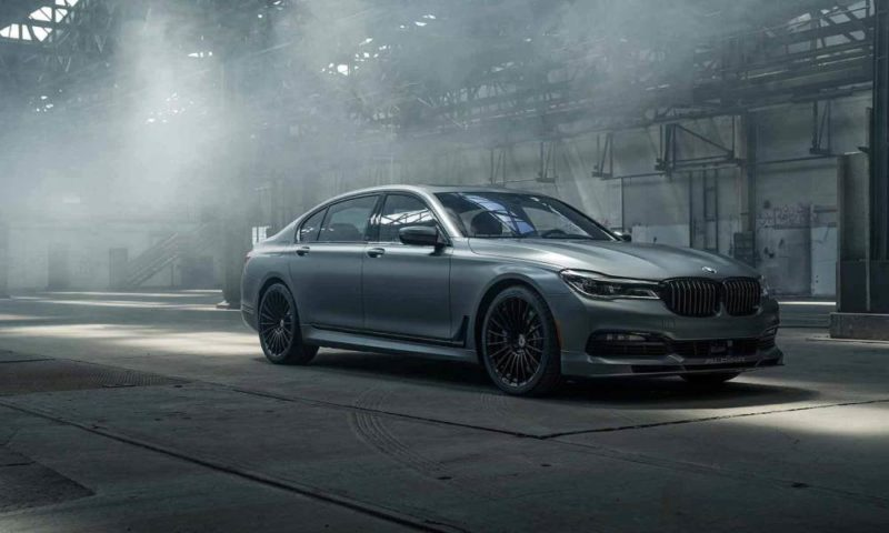 BMW Alpina B7 Stealth Edition front