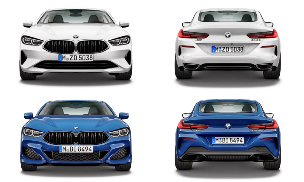 Here S What The New Bmw 8 Series Looks Like In Base Trim Car Magazine