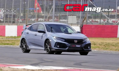 Honda Civic Type R track test