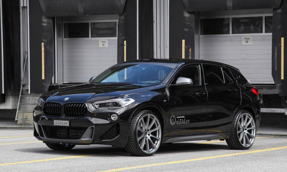 tuner hands bmw x2 an angrier look and more power. Black Bedroom Furniture Sets. Home Design Ideas