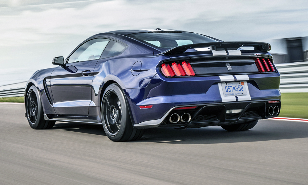 Say Hello To The Updated Ford Mustang Shelby Gt350 Car