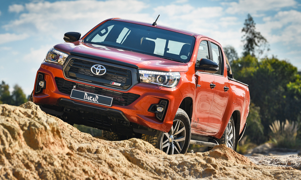 Toyota Hilux Dakar Edition has been launched in South Africa.