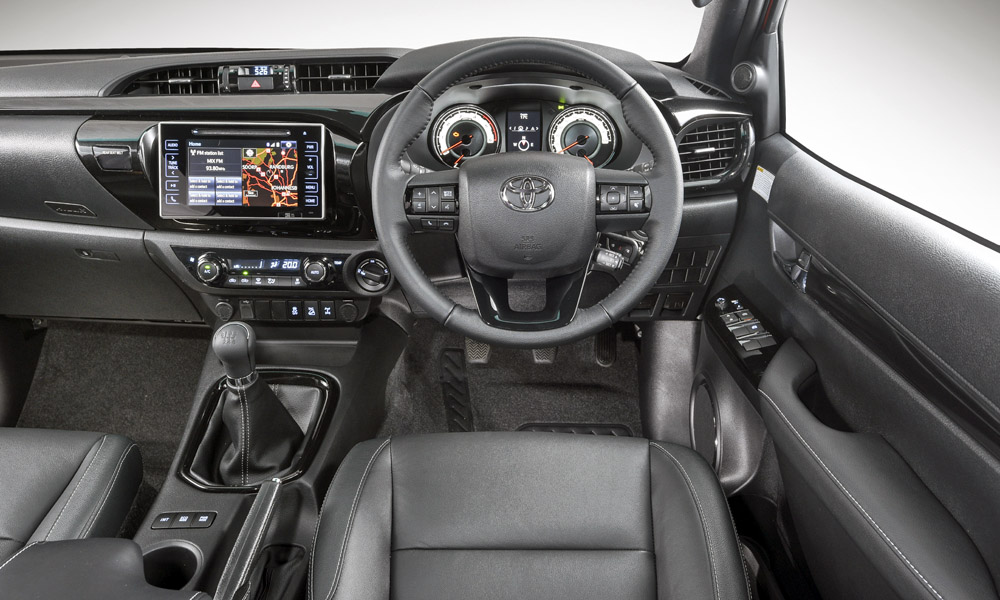 Note the addition of leather upholstery and black trim (sat-nav is also added).