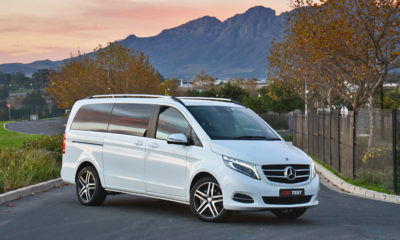 We spend some time with the Mercedes-Benz V250d.