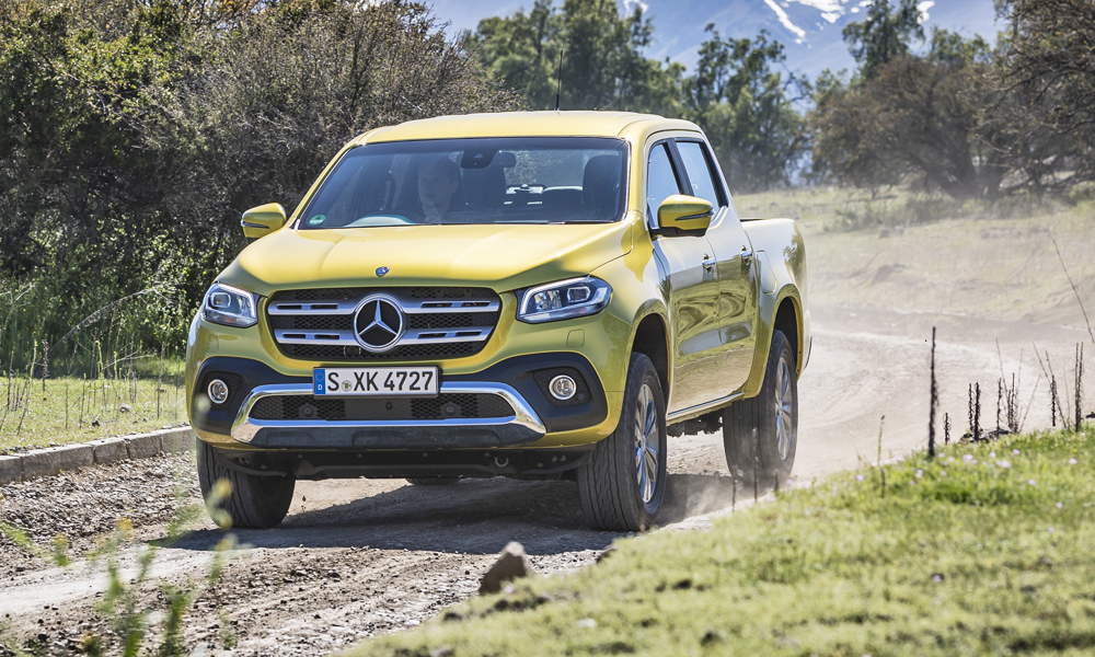 Mercedes-Benz engineer says X-Class will 'probably' get V8... - CAR magazine