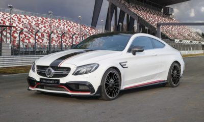 Mansory Mercedes-AMG C63 S coupe front