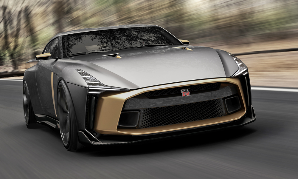 Nissan And Italdesign Team Up To Build 530 Kw Gt R50