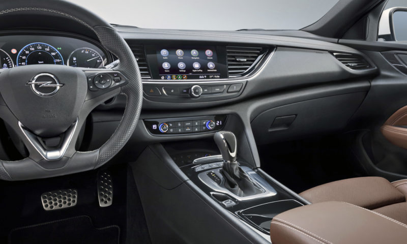 Opel infotainment system