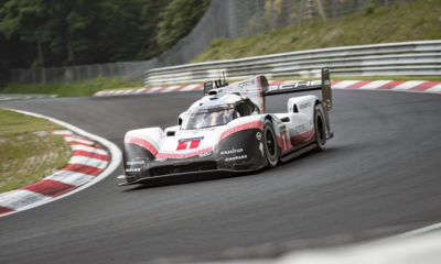 The Porsche 919 Hybrid Evo has smashed the Nürburgring lap record.