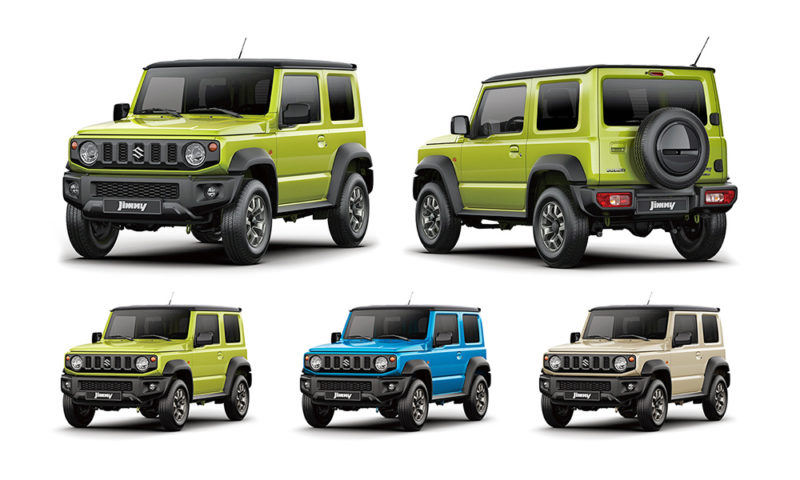 New Suzuki Jimny rendered as a convertible model