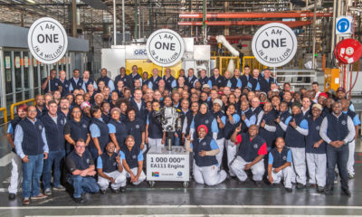 Volkswagen SA: one millionth EA111