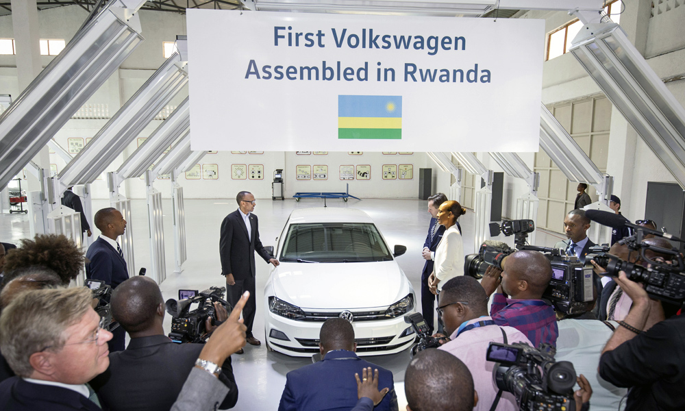 Volkswagen Group Latest Models >> Volkswagen officially kicks off production in Rwanda ...