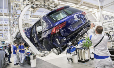 Volkswagen Wolfsburg production