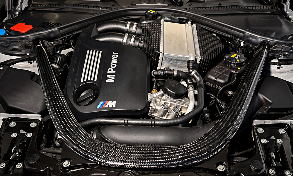 Derived from the S55 engine from the current M3 and M4, the M2 powertrain is strong, smooth and tractable.