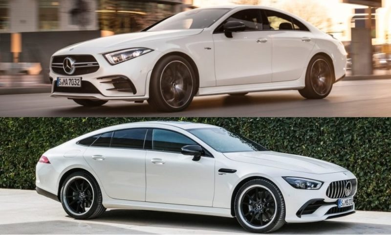 Mercedes-Benz CLS53 & AMG GT 4-door