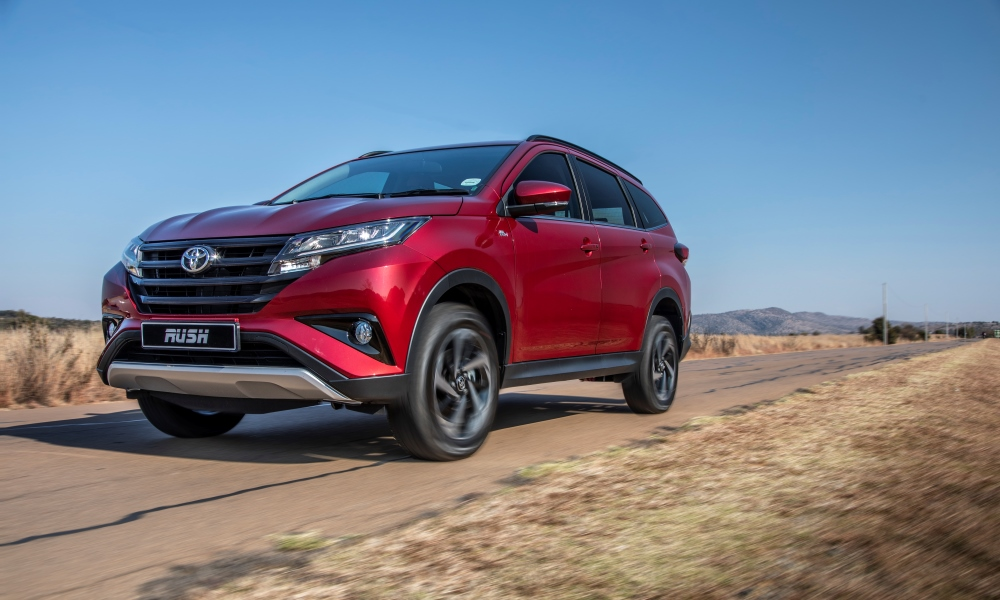 The Toyota Rush is the latest crossover to launch in South Africa.
