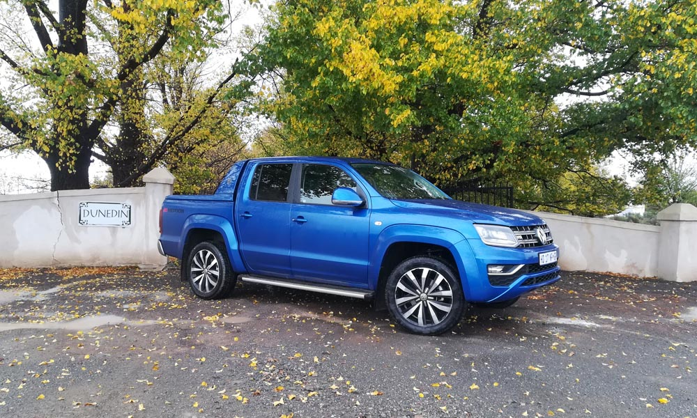 We keep enjoying the performance on offer, although the Amarok did ask for an oil top up.