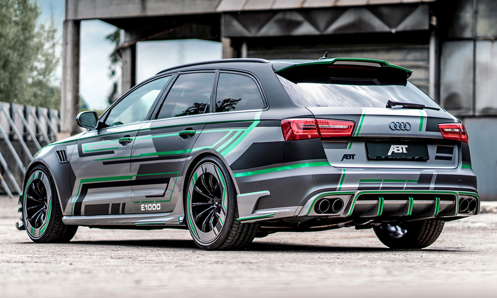 Say hello to the (750 kW/1 291 N.m!) ABT Audi RS6-E… - CAR magazine