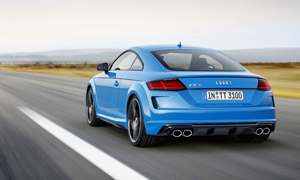 This is the TTS Coupé.