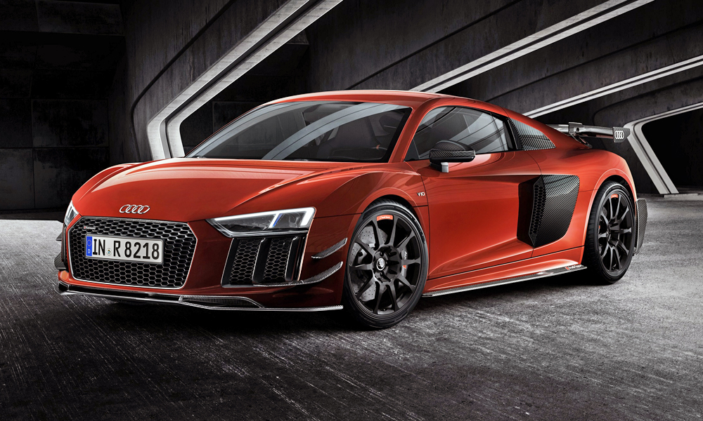 Audi Sport has revealed a limited-edition version of its V10-powered R8.