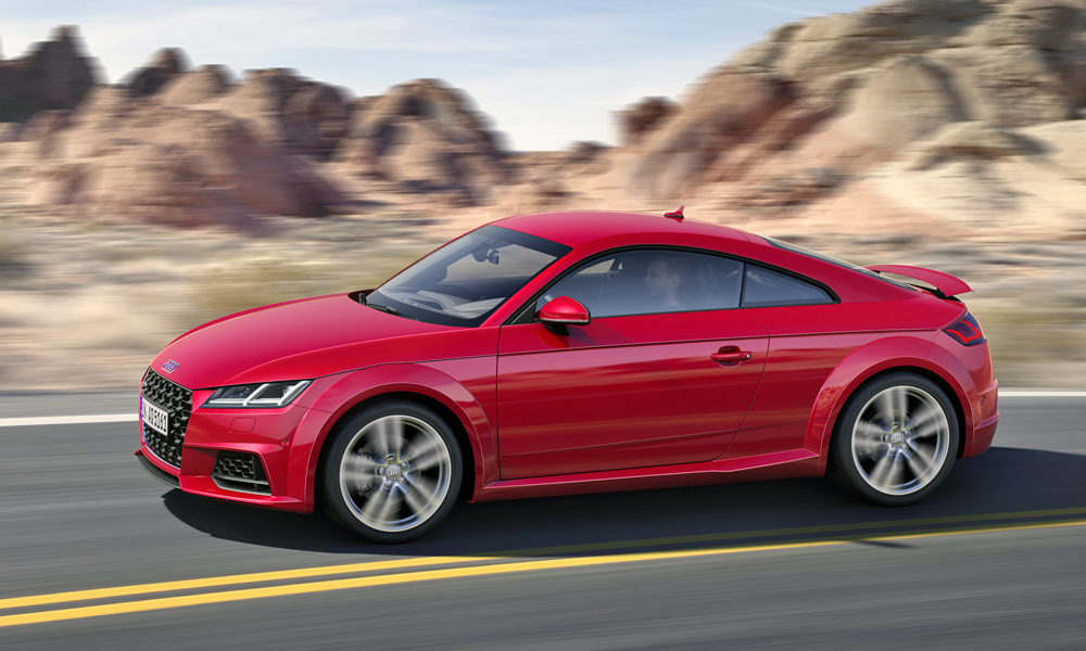 Audi TT Arrives With Sportier Styling And New Special Editions